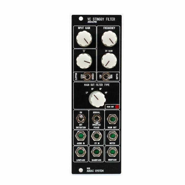 ADDAC SYSTEM - ADDAC System ADDAC705 Stinggy Filter Module (black faceplate)