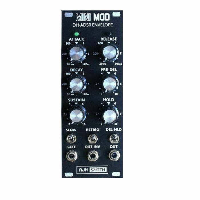 AJH SYNTH - AJH Synth Mini Mod DH ADSR Envelope Module (black) (B-STOCK)