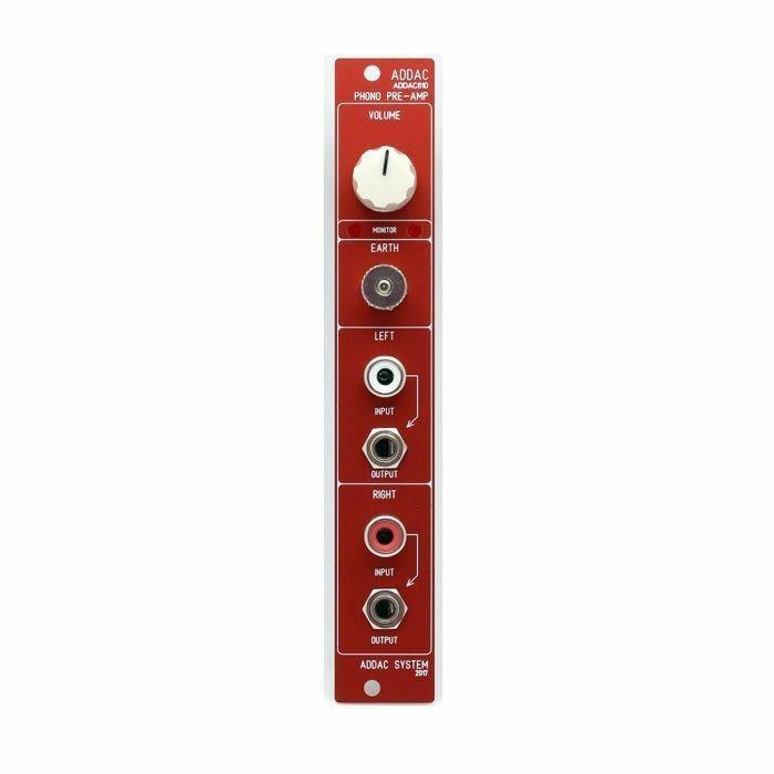 ADDAC SYSTEM - ADDAC System ADDAC810 Phono Pre-Amp Module (red faceplate)