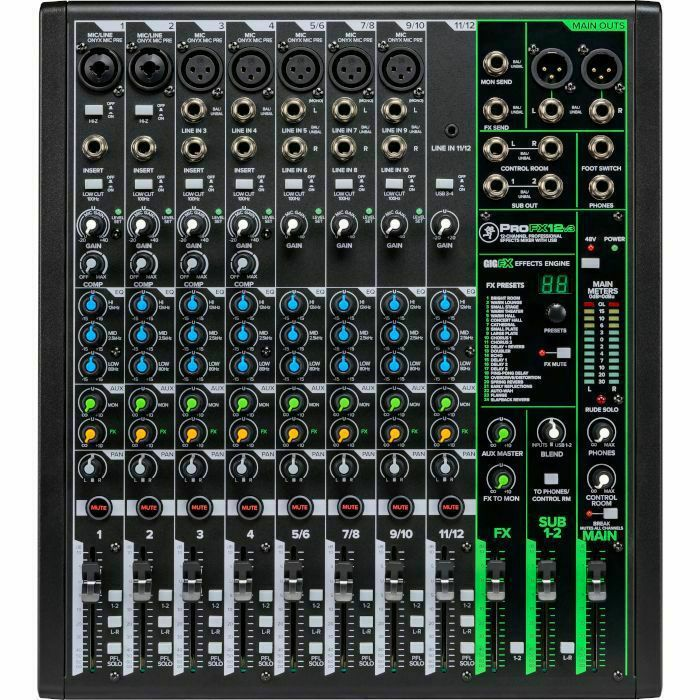 MACKIE - Mackie Pro FX12 v3 Mixer With Built In Effects, USB Recording Interface & Software Bundle (B-STOCK)