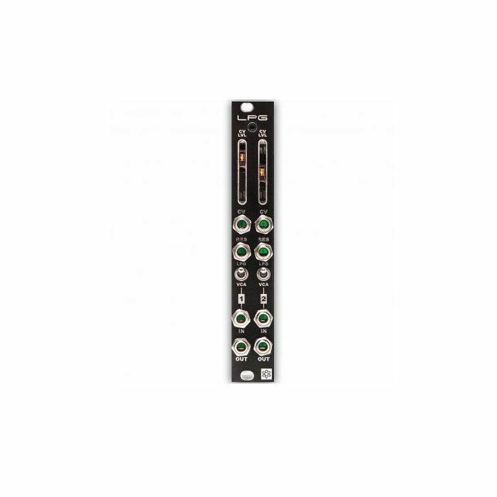 SYNTHROTEK - SynthRotek LPG Low Pass Gate Module (black faceplate) (fully assembled)