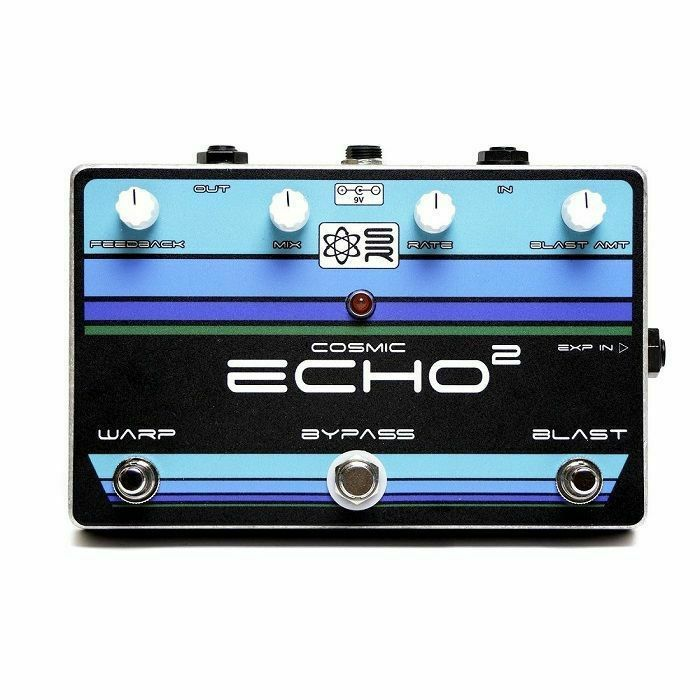 SYNTHROTEK - SynthRotek Cosmic ECHO Squared Analogue Delay Pedal (fully assembled)