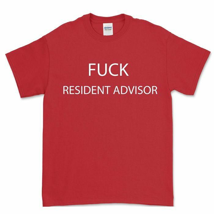 FXHE - Fuck Resident Advisor T-Shirt (large)