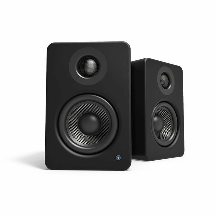 KANTO AUDIO - Kanto Audio YU2 Powered Desktop Speakers (pair, matte black)