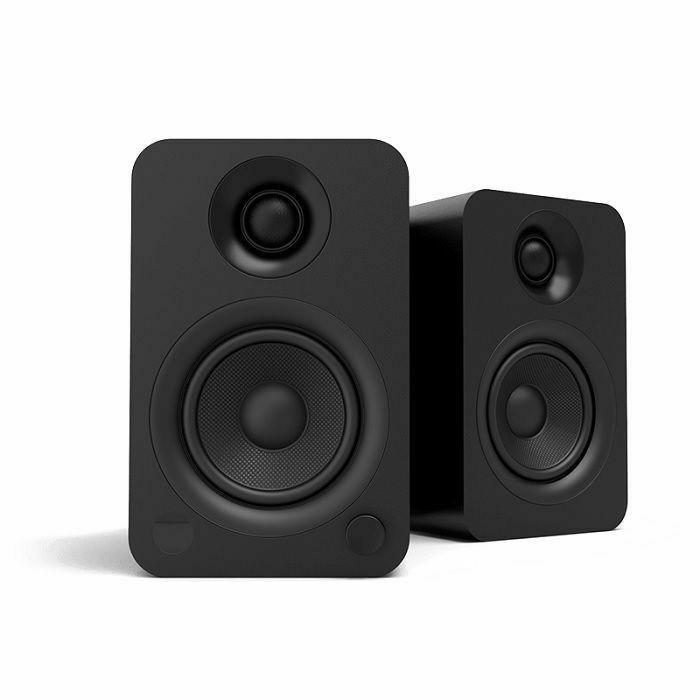 KANTO AUDIO - Kanto Audio YU Powered Bookshelf Speakers (pair, matte black)