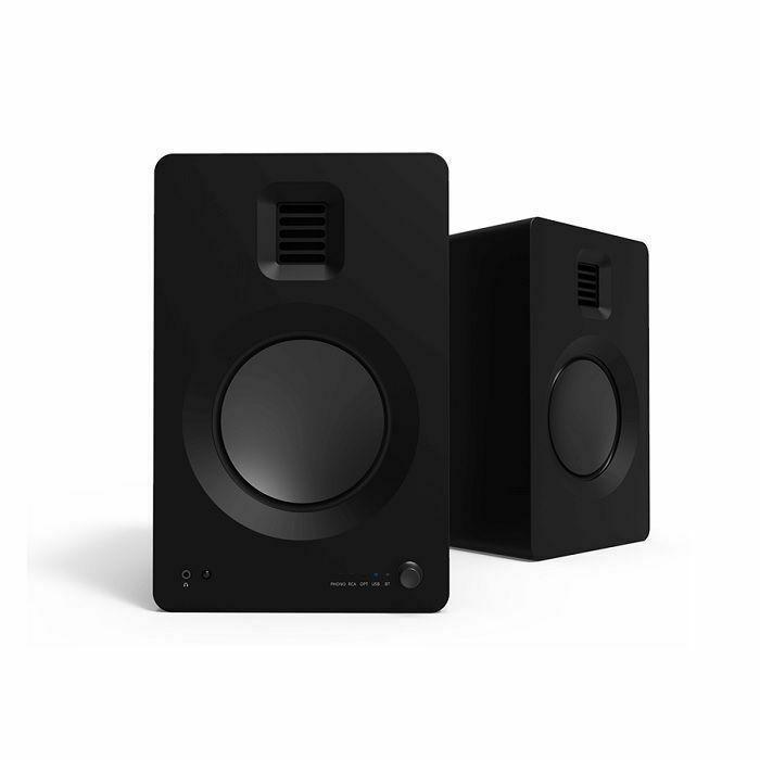 KANTO AUDIO - Kanto Audio TUK Powered Bookshelf Speakers (pair, matte black)
