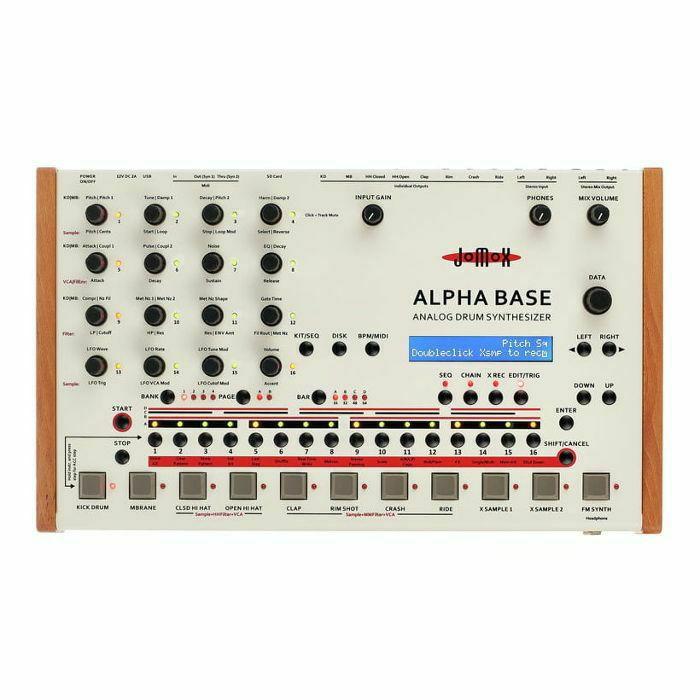 JOMOX - Jomox Alpha Base Analog Drum Synthesizer (B-STOCK)