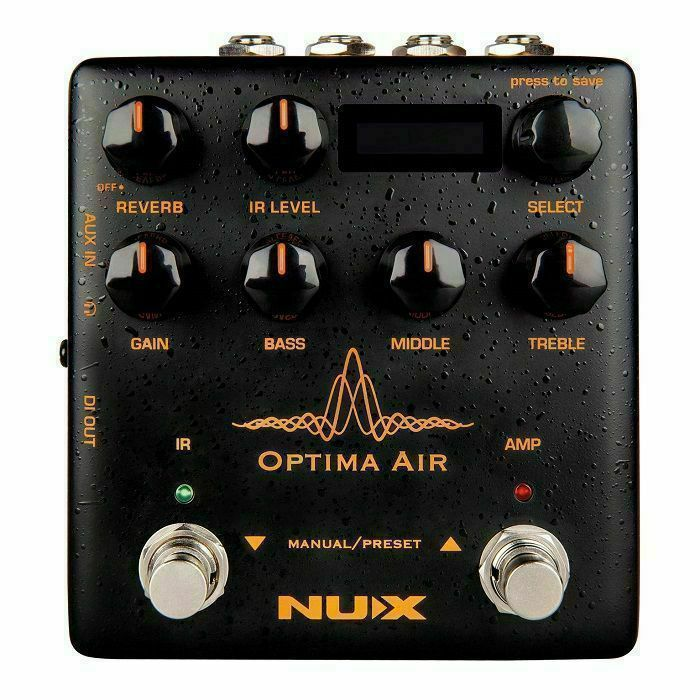 NUX - Nux Optima Air Acoustic Simulator & IR Loader Pedal