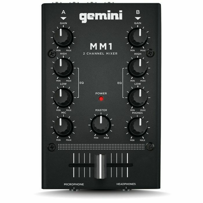 GEMINI - Gemini MM1 2 Channel Compact DJ Mixer (B-STOCK)