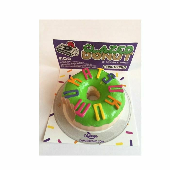 MUKATSUKU - Mukatsuku 3 D Doughnut 45 Adapter (Matcha Green Tea Colour Glazed With Multicoloured Sprinkles) (Juno exclusive)
