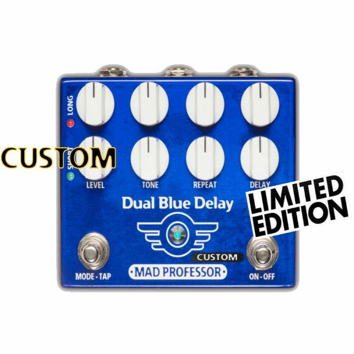 MAD PROFESSOR - Mad Professor Dual Blue Delay With Deep Mod Custom Limited Edition Pedal