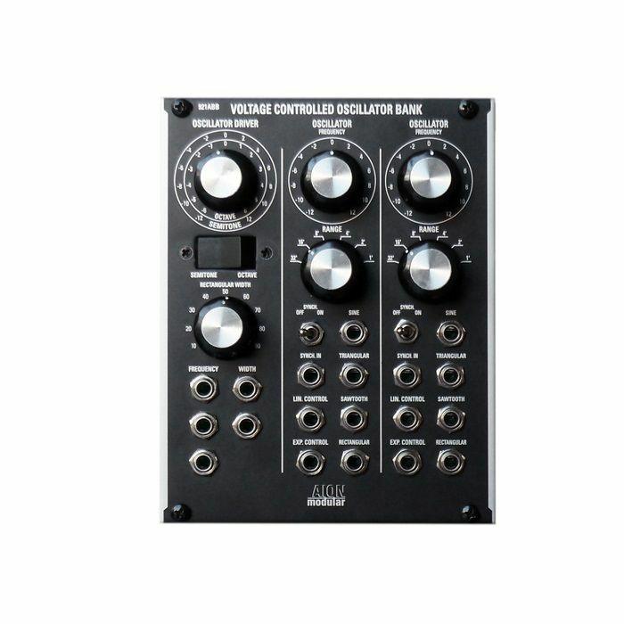 AION MODULAR - AION Modular 921ABB Voltage Controlled Oscillator Bank Module