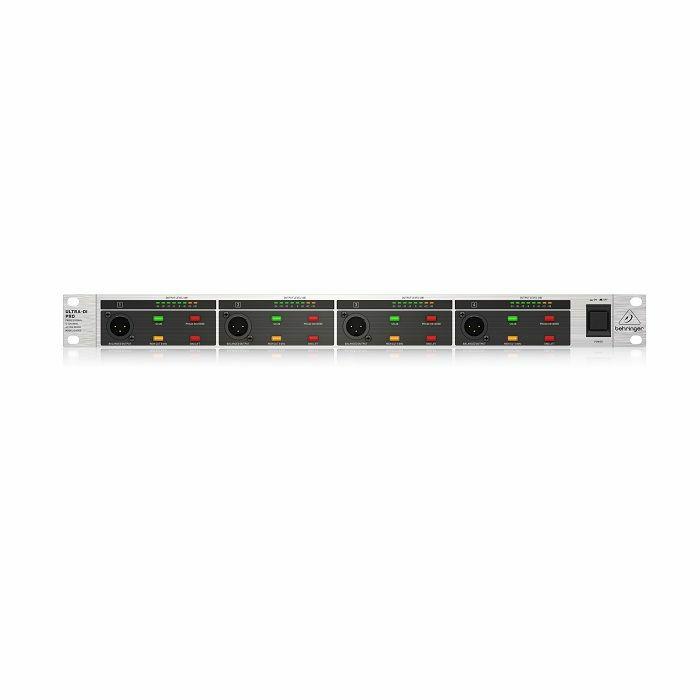 BEHRINGER - Behringer DI4000 V2 4-Channel Active DI Box