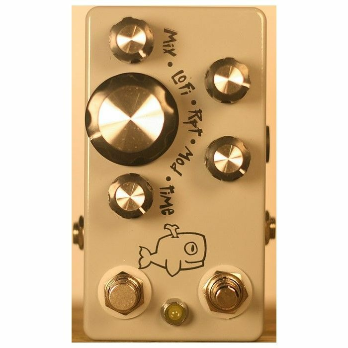 HUNGRY ROBOT - Hungry Robot The Moby Dick V2 Lofi Tape Delay With Modulation & Tap Tempo Pedal
