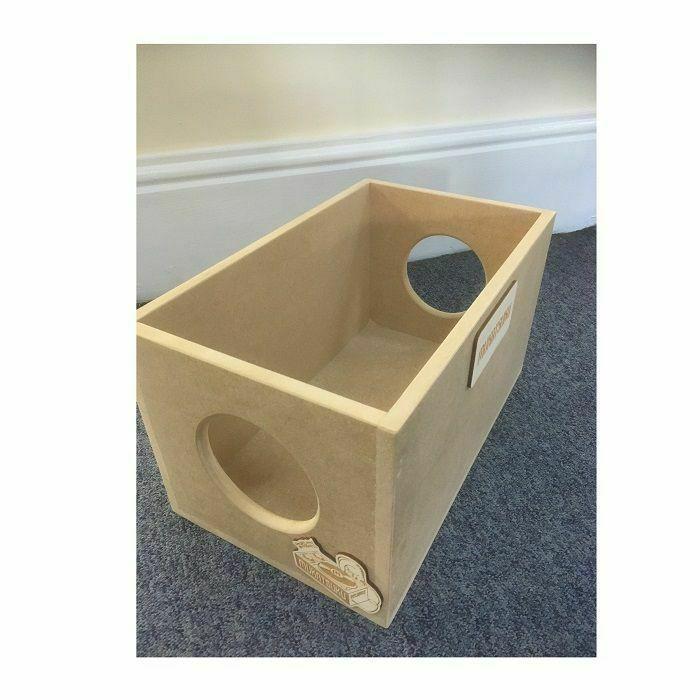 MUKATSUKU - Mukatsuku Branded Wooden Storage Box/45 Crate (holds up to 125 x 7'' records) Version #2