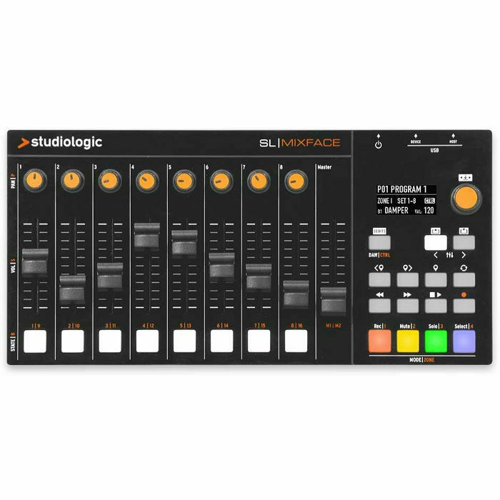 STUDIOLOGIC - Studiologic SL Mixface 8 Channel MIDI Controller Mixer ***FREE UVI DIGITAL SYNTHSTATION PLUGIN FOR EXISTING AND NEW CUSTOMERS WHILE STOCKS LAST*** (B-STOCK)