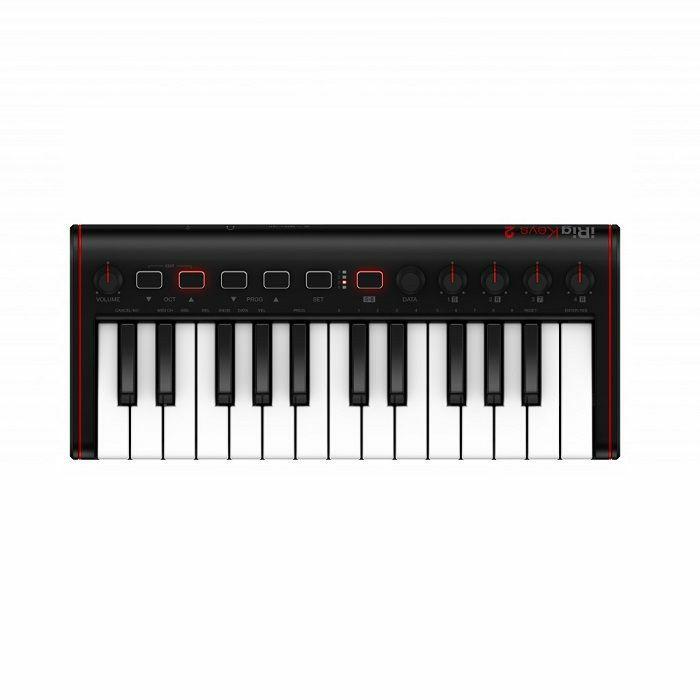 IK MULTIMEDIA - IK Multimedia iRig Keys 2 Mini Universal MIDI Keyboard Controller For iOS Android & MAC/PC