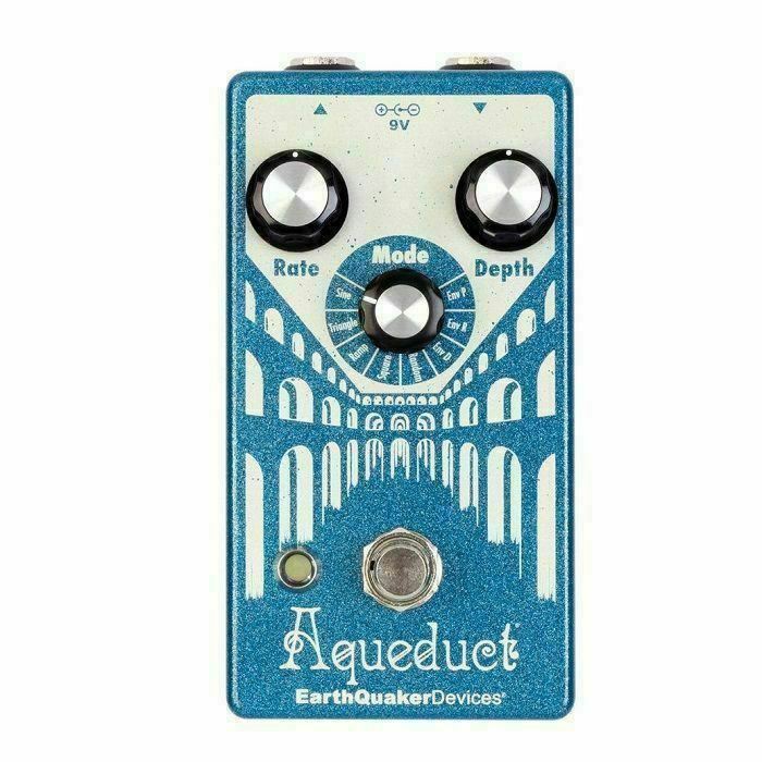 EARTH QUAKER DEVICES - Earth Quaker Devices Aqueduct True Pitch Vibrato pedal