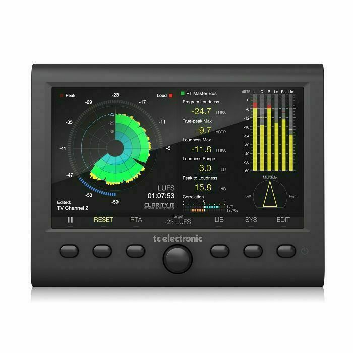 TC ELECTRONIC - TC Electronic Clarity M Stereo Audio Meter