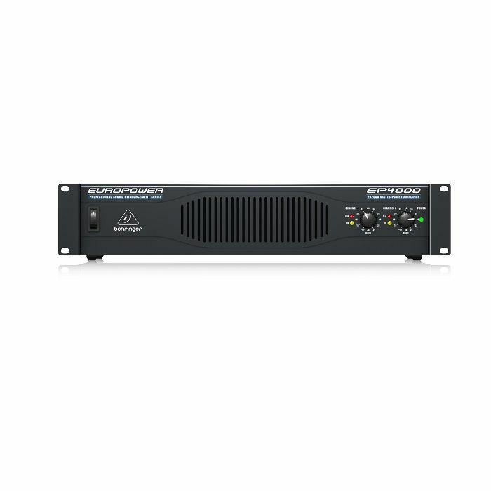 BEHRINGER - Behringer EP4000 Professional 4000 Watt Stereo Power Amplifier