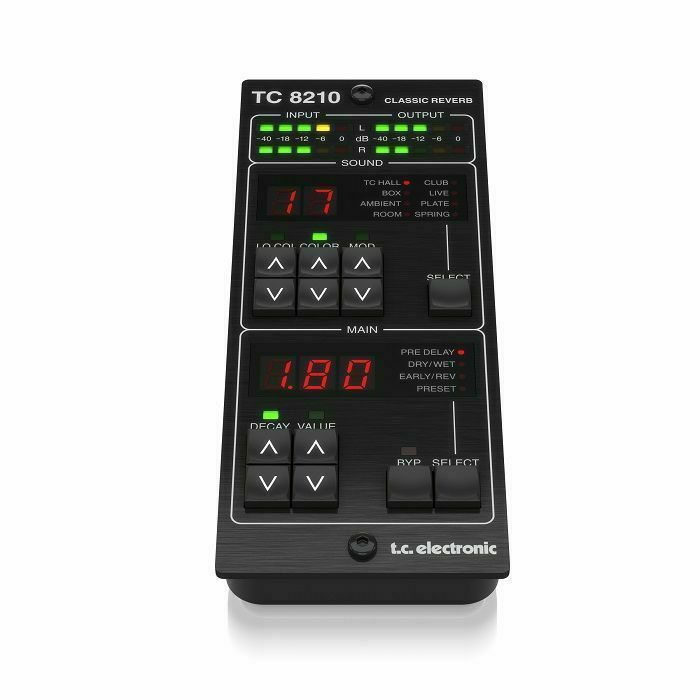 TC ELECTRONIC - TC Electronic TC8210-DT Reverb Plug-in with Dedicated Hardware Controller