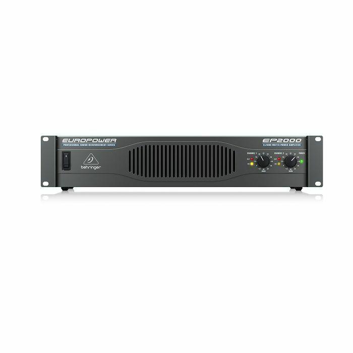 BEHRINGER - Behringer EP2000 Professional 2000 Watt Stereo Power Amplifier