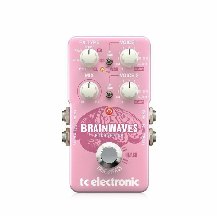 TC ELECTRONIC - TC Electronic Brainwaves Pitchshifter Pedal