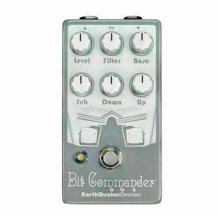 EARTH QUAKER DEVICES - Earth Quaker Devices Bit Commander V2 Analog Octave Synth Pedal