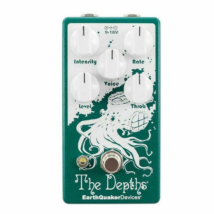 EARTH QUAKER DEVICES - Earth Quaker Devices The Depths V2 Analog Optical Vibe Machine Pedal
