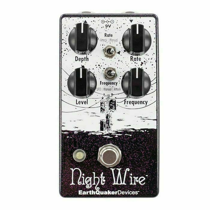EARTH QUAKER DEVICES - Earth Quaker Devices Night Wire V2 Harmonic Tremolo Pedal