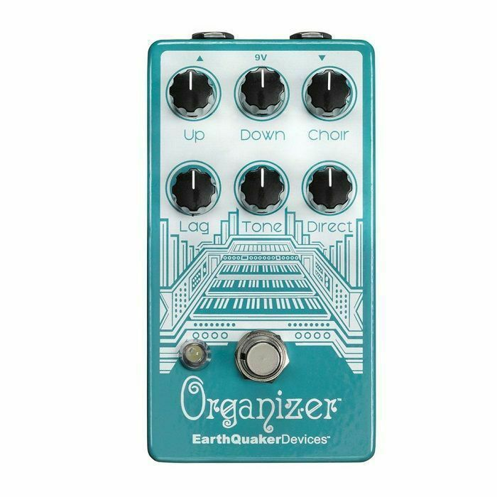EARTH QUAKER DEVICES - Earth Quaker Devices Organizer V2 Polyphonic Organ Emulator Pedal