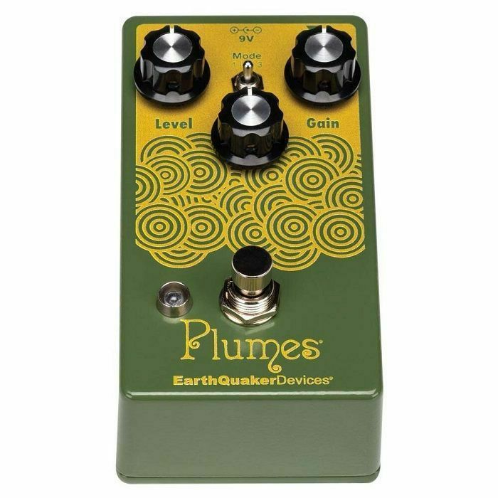 EARTH QUAKER DEVICES - Earth Quaker Devices Plumes	 Small Signal Shredder Overdrive Pedal