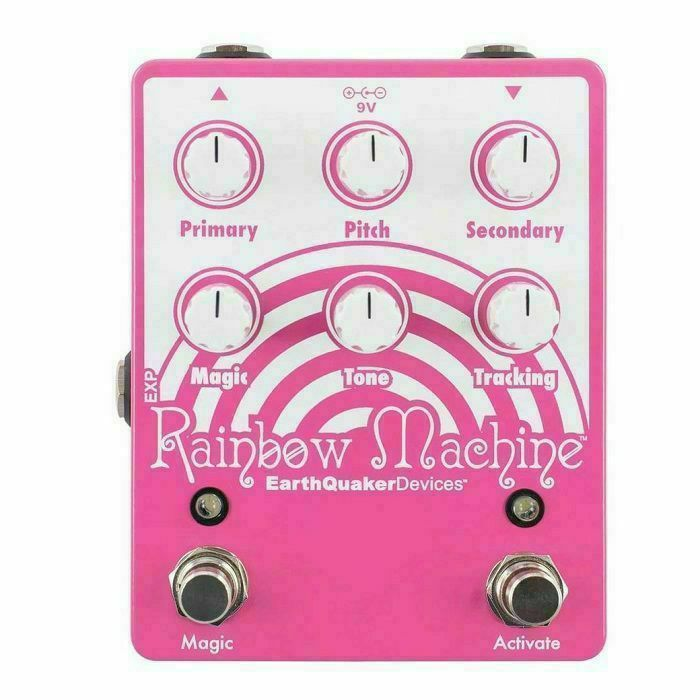 EARTH QUAKER DEVICES - Earth Quaker Devices Rainbow Machine V2 Polyphonic Pitch Mesmerizer Pedal