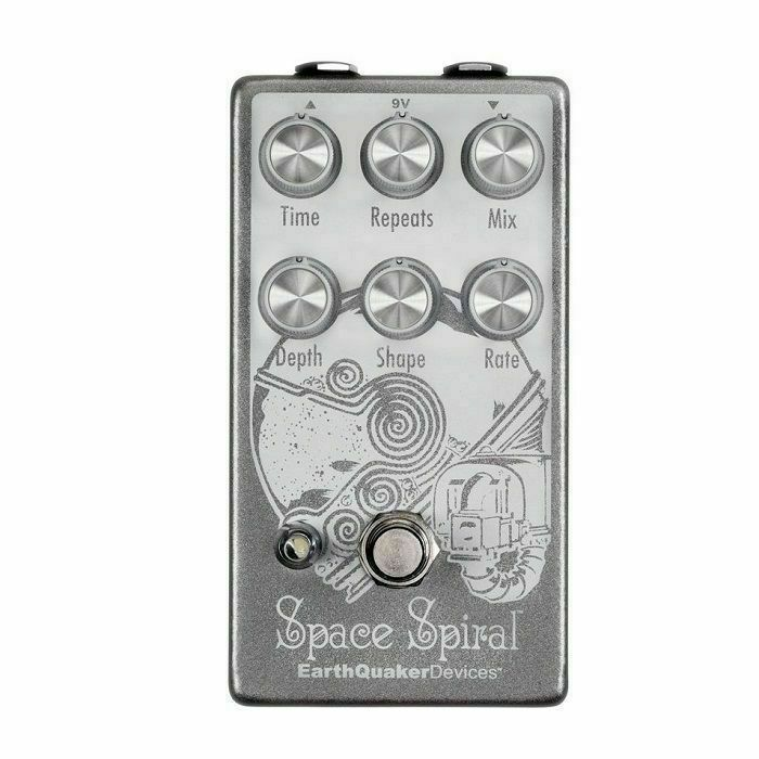 EARTH QUAKER DEVICES - Earth Quaker Devices Space Spiral V2 Modulated Delay Device Pedal