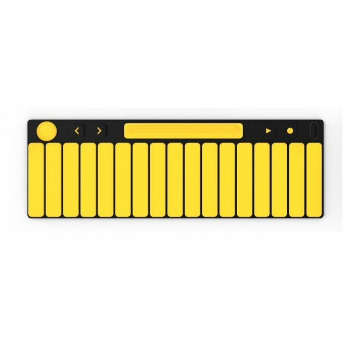 JOUE - Joue Fire Piano Pad For Board Play Modular MIDI Contorller (yellow, orange)
