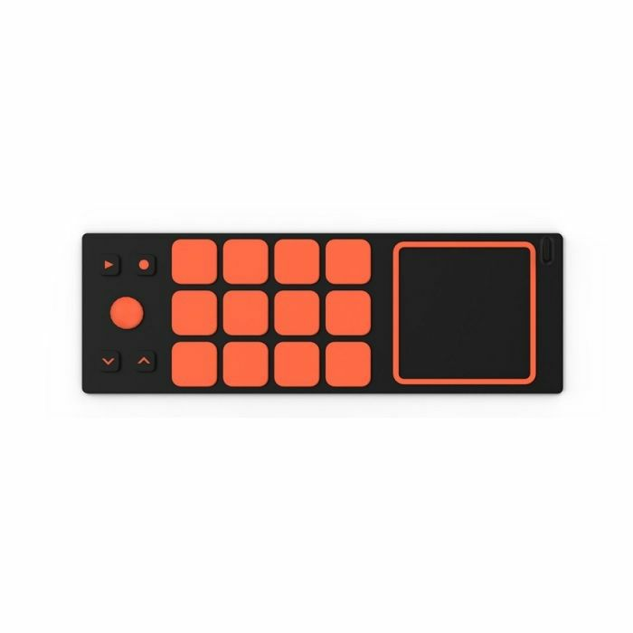 JOUE - Joue Fire Drum Pad For Board Play Modular MIDI Controller (yellow, orange)