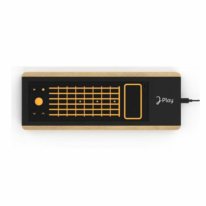JOUE - Joue Fire Guitar Pad For Board Play Modular MIDI Controller (yellow, orange)