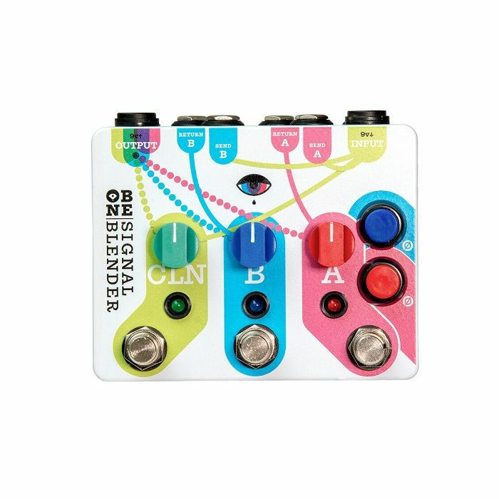 OLD BLOOD NOISE - Old Blood Noise Signal Blender Parallel Effect Blender/Mixer/Router Pedal