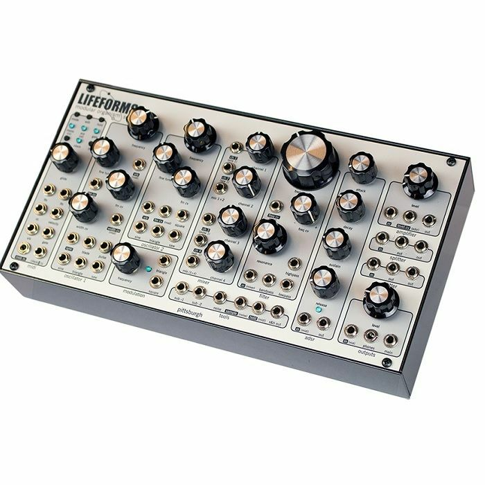 PITTSBURGH MODULAR - Pittsburgh Modular Lifeforms SV-1B Blackbox Desktop Analogue Modular Synthesiser