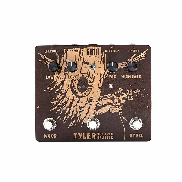KMA AUDIO MACHINES - KMA Audio Machines Tyler Two Channel Signal Splitter Pedal