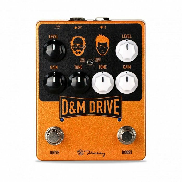 KEELEY - Keeley D&M Drive & Boost Pedal