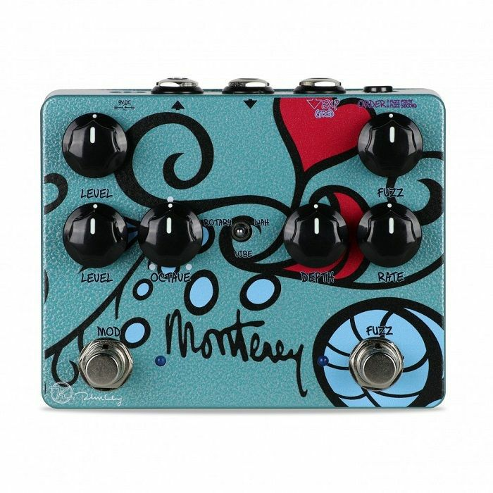 KEELEY - Keeley Monterey Fuzz Vibe Rotary Wah Pedal