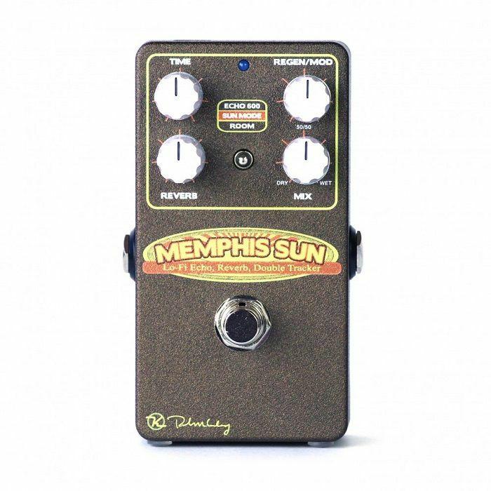 KEELEY - Keeley Memphis Sun Lo-Fi Reverb, Echo & Double-Tracker Pedal