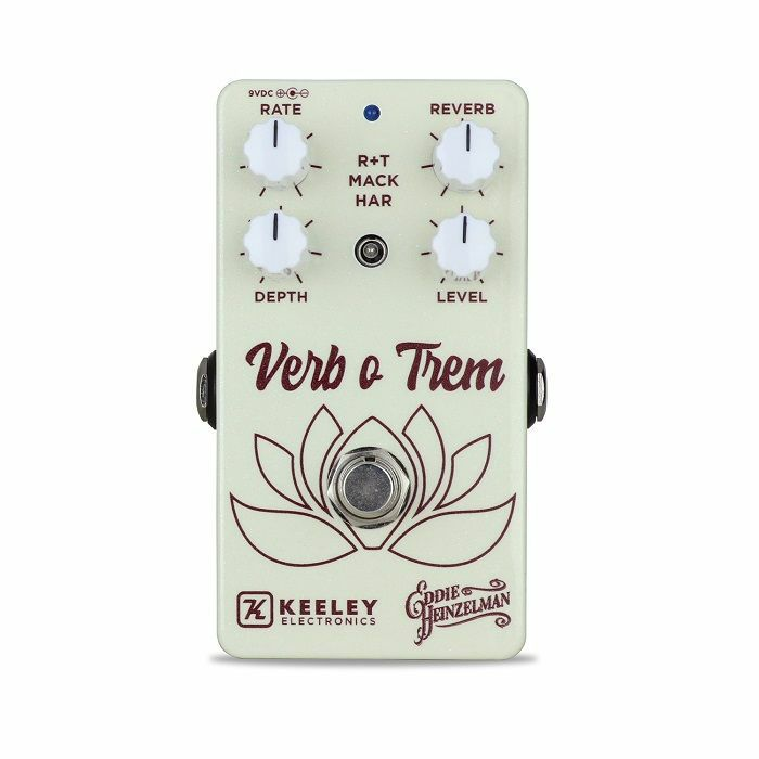KEELEY - Keeley Verb O Trem Inspired Reverb & Tremolo Pedal