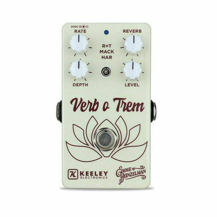 KEELEY - Keeley Verb O Trem Workstation Powerful Reverb & Modulation Machine Pedal