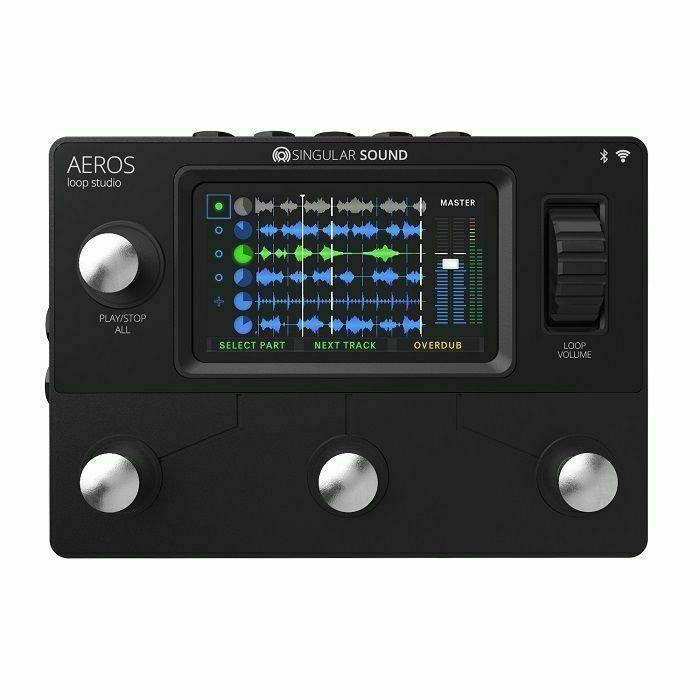 SINGULAR SOUND - Singular Sound Aeros Loop Studio Looper Pedal