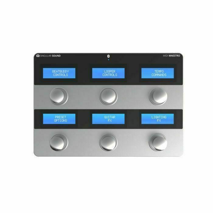 SINGULAR SOUND - Singular Sound MIDI Maestro Foot Controller