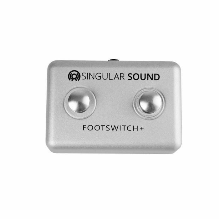 SINGULAR SOUND - Singular Sound Footswitch + Two Button Footswitch Pedal