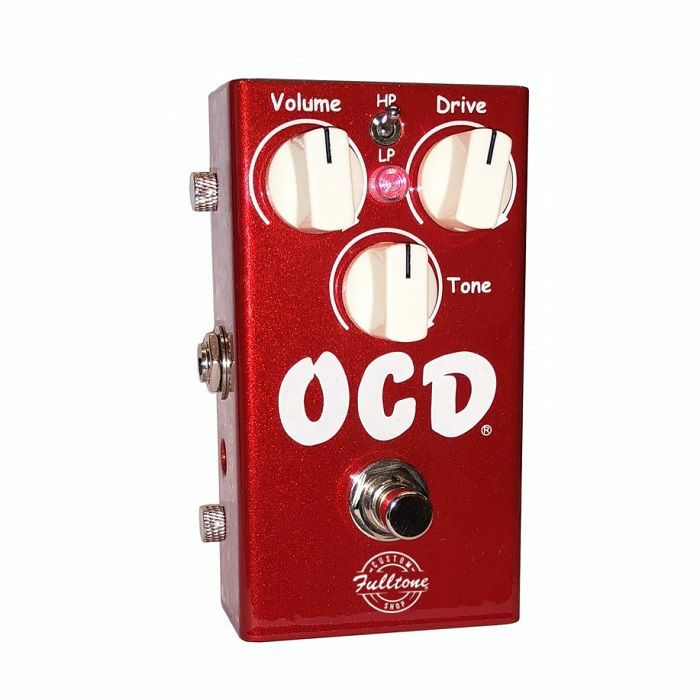 FULLTONE - Fulltone OCD Candy Apple Red Limited Red Edition of the Obsessive Compulsive Drive Pedal