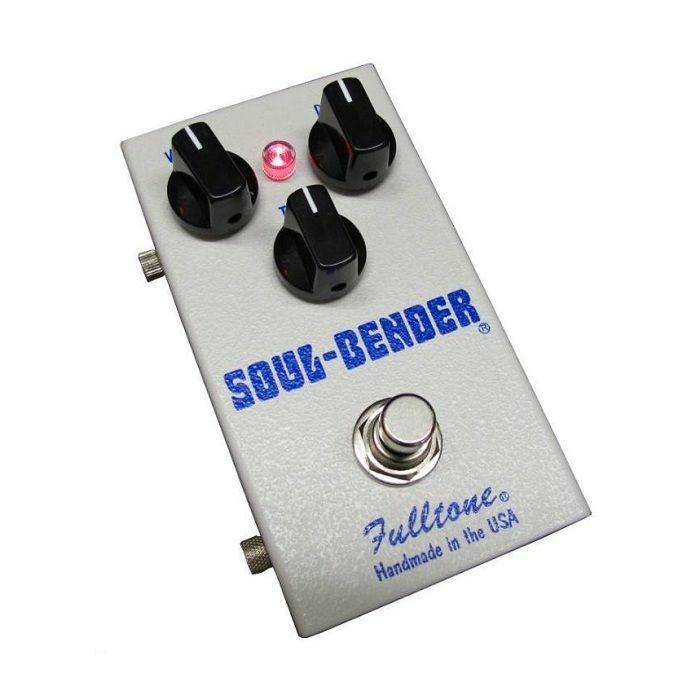 FULLTONE - Fulltone Soulbender 60's Classic Fuzz Pedal with 3 Matched Germanium Transistors